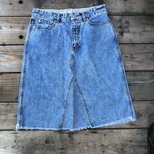 Tommy Hilfiger Denim Wash Vintage  Skirt